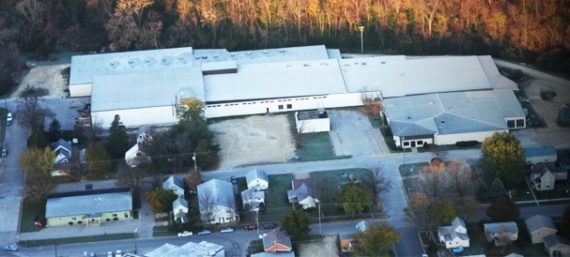 Aerial Photo of Deco Products Facility in Decorah Iowa