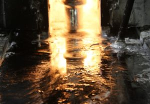 Zinc Die Cast Furnace - Molten Zinc