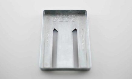 Zinc Die Cast Money Clip - Thin Wall