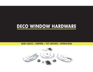 Deco Products Window Hardware