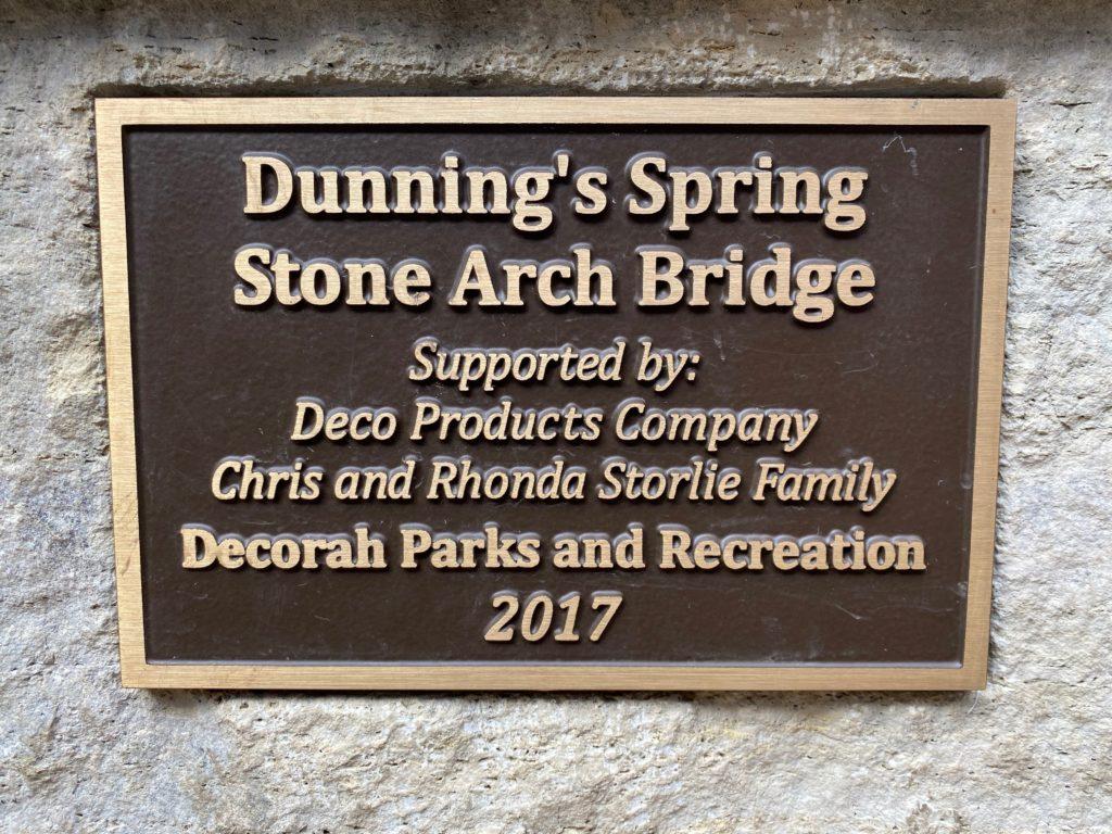 Decorah Stone Arch Bridge